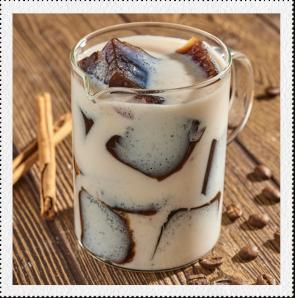 Café helado con Zuko sabor Horchata