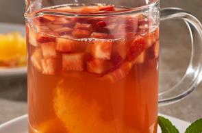 Bebida caliente de Zuko Té Naranja y Zuko Té Durazno