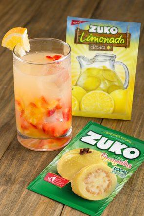 Limonada de guayaba fortificada con vitamina C