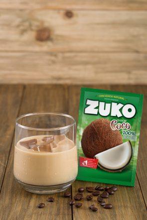 Café helado de coco