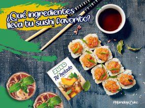 ¿Qué ingredientes lleva tu sushi favorito?