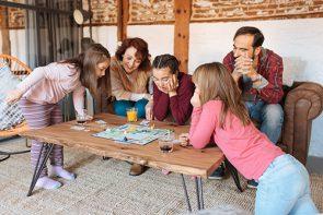 Juegos de mesa para armar en familia