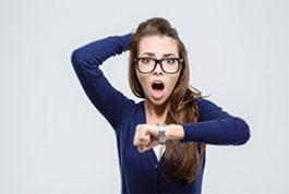 Tips para mejorar la puntualidad.